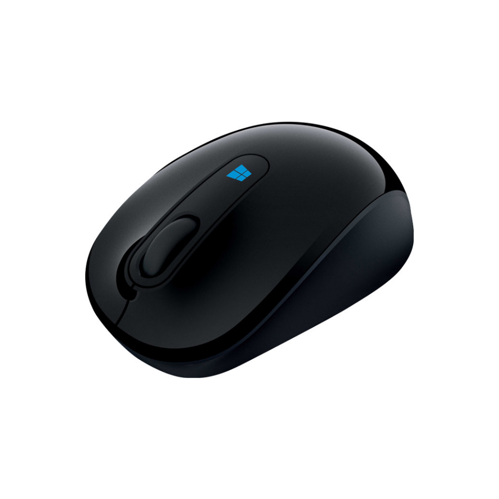 A large main feature product image of Microsoft Sculpt Mobile Mouse