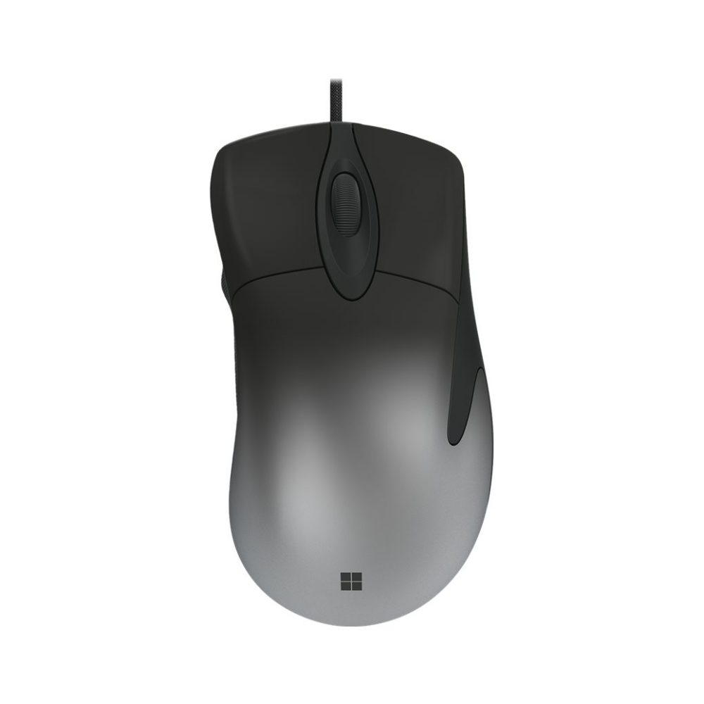 A large main feature product image of Microsoft Pro Intellimouse - Black