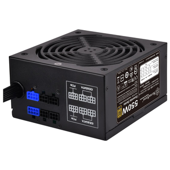 Product image of SilverStone Essential 550W 80Plus Gold Semi-Modular Power Supply - Click for product page of SilverStone Essential 550W 80Plus Gold Semi-Modular Power Supply
