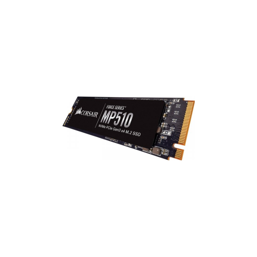 A large main feature product image of Corsair Force MP510 960GB M.2 NVMe