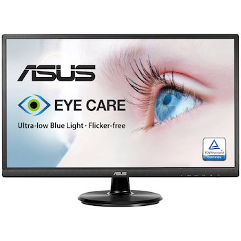 "Product image of ASUS VA249HE 23.8"" Full HD 5MS VA LED Monitor - Click for product page of ASUS VA249HE 23.8"" Full HD 5MS VA LED Monitor"