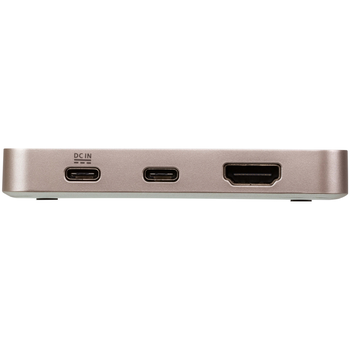 Product image of ATEN USB-C 4K Ultra Mini Dock with Power Pass-through - Click for product page of ATEN USB-C 4K Ultra Mini Dock with Power Pass-through