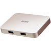A product image of ATEN USB-C 4K Ultra Mini Dock with Power Pass-through