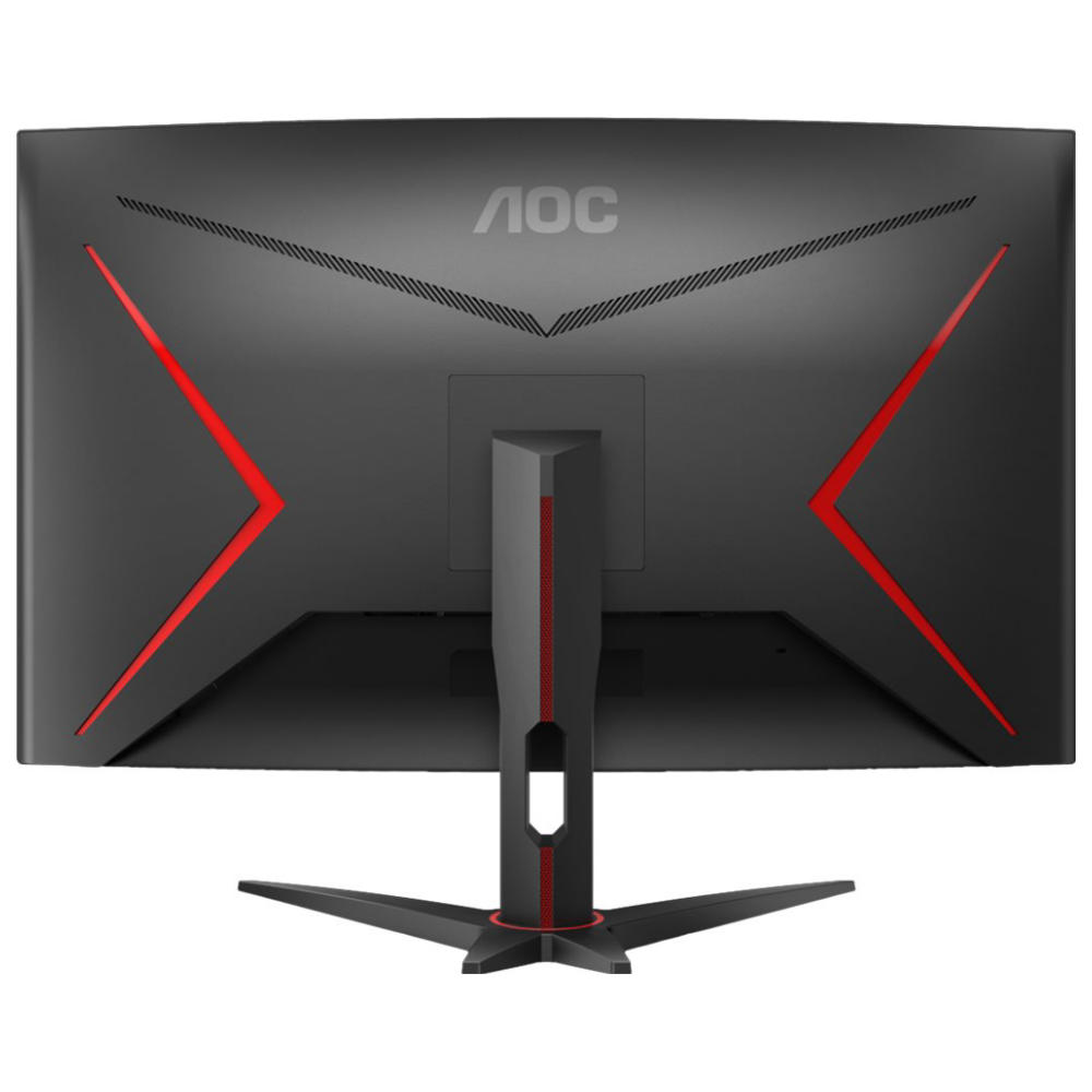 "A large main feature product image of AOC CQ32G2E 31.5"" WQHD FreeSync Curved 144Hz 1MS VA LED Gaming Monitor"
