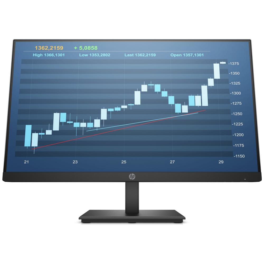 """A large main feature product image of HP P244 23.8"""" Full HD 60Hz 5MS LED Monitor"""