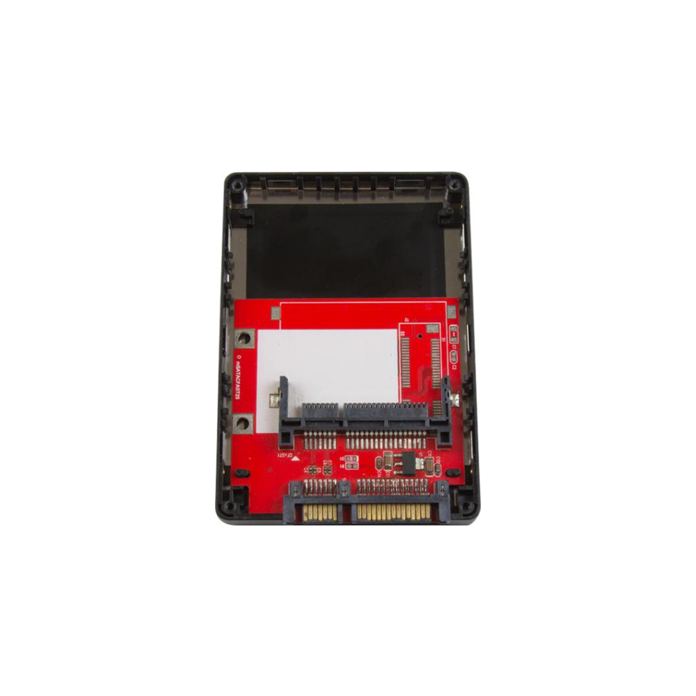 """A large main feature product image of Startech CFast memory card to 2.5"""" SATA adapter (up to 6 Gbps)"""