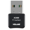 A product image of Volans AC600 Mini Wireless Dual Band USB Adapter