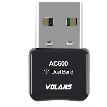 Product image of Volans AC600 Mini Wireless Dual Band USB Adapter - Click for product page of Volans AC600 Mini Wireless Dual Band USB Adapter