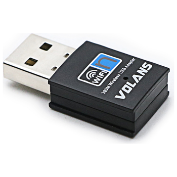 Product image of Volans N300 Wireless USB Adapter - Click for product page of Volans N300 Wireless USB Adapter