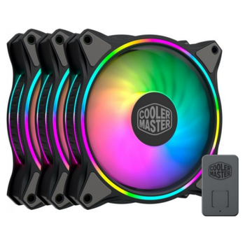 Product image of Cooler Master MasterFan MF120 Halo RGB 3-in-1 120mm Fan  - Click for product page of Cooler Master MasterFan MF120 Halo RGB 3-in-1 120mm Fan