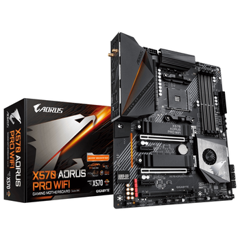 Product image of EX-DEMO Gigabyte X570 Aorus Pro WiFi AM4 ATX Desktop Motherboard - Click for product page of EX-DEMO Gigabyte X570 Aorus Pro WiFi AM4 ATX Desktop Motherboard
