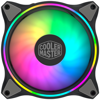Product image of Cooler Master MasterFan MF120 RGB Halo 120mm Fan - Click for product page of Cooler Master MasterFan MF120 RGB Halo 120mm Fan