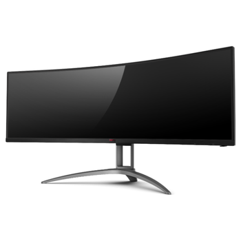 "Product image of AOC AGON AG493UCX 49"" Dual WQHD Adaptive Sync Curved 120Hz 1MS HDR400 VA LED Gaming Monitor - Click for product page of AOC AGON AG493UCX 49"" Dual WQHD Adaptive Sync Curved 120Hz 1MS HDR400 VA LED Gaming Monitor"