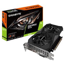 Product image of Gigabyte GeForce GTX1650 WINDFORCE OC 4GB GDDR6 - Click for product page of Gigabyte GeForce GTX1650 WINDFORCE OC 4GB GDDR6