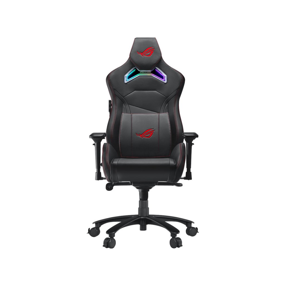 A large main feature product image of ASUS ROG Chariot RGB Lighting Gaming Chair