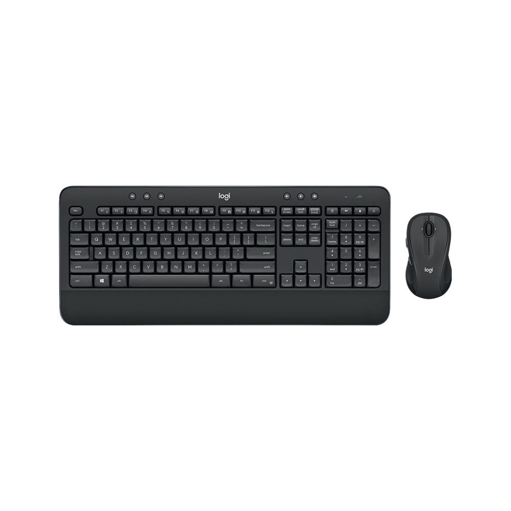 A large main feature product image of Logitech MK545 Advanced Wireless Keyboard and Mouse Combo