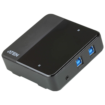 Product image of ATEN USB-C enabled USB 3.1 Gen 1 Peripheral Sharing Switch - Click for product page of ATEN USB-C enabled USB 3.1 Gen 1 Peripheral Sharing Switch