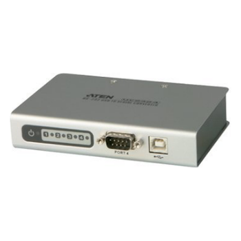 Product image of ATEN 4 Port USB to RS232 Converter with 1.8m cable - Click for product page of ATEN 4 Port USB to RS232 Converter with 1.8m cable