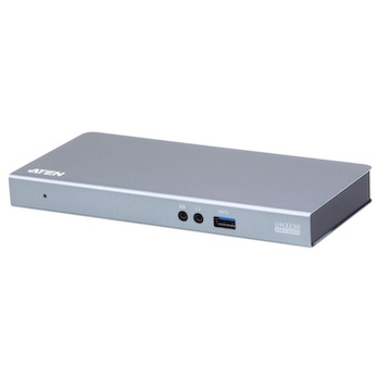Product image of EX-DEMO ATEN USB-C Multiport Dock with Power Charging  - Click for product page of EX-DEMO ATEN USB-C Multiport Dock with Power Charging
