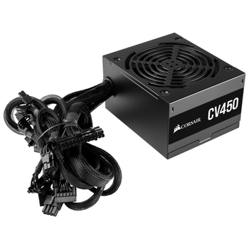 Product image of Corsair CV450 450W 80Plus Bronze Power Supply - Click for product page of Corsair CV450 450W 80Plus Bronze Power Supply