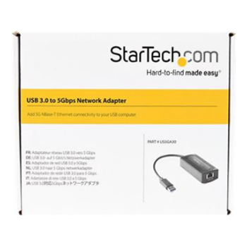 Product image of Startech USB 3.0 Type-A to 5 Gigabit Ethernet Adapter - 5GBASE-T - Click for product page of Startech USB 3.0 Type-A to 5 Gigabit Ethernet Adapter - 5GBASE-T