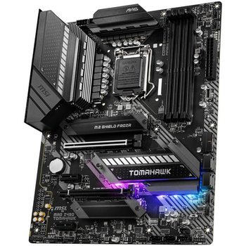 Product image of MSI MAG Z490 Tomahawk LGA1200 ATX Desktop Motherboard - Click for product page of MSI MAG Z490 Tomahawk LGA1200 ATX Desktop Motherboard