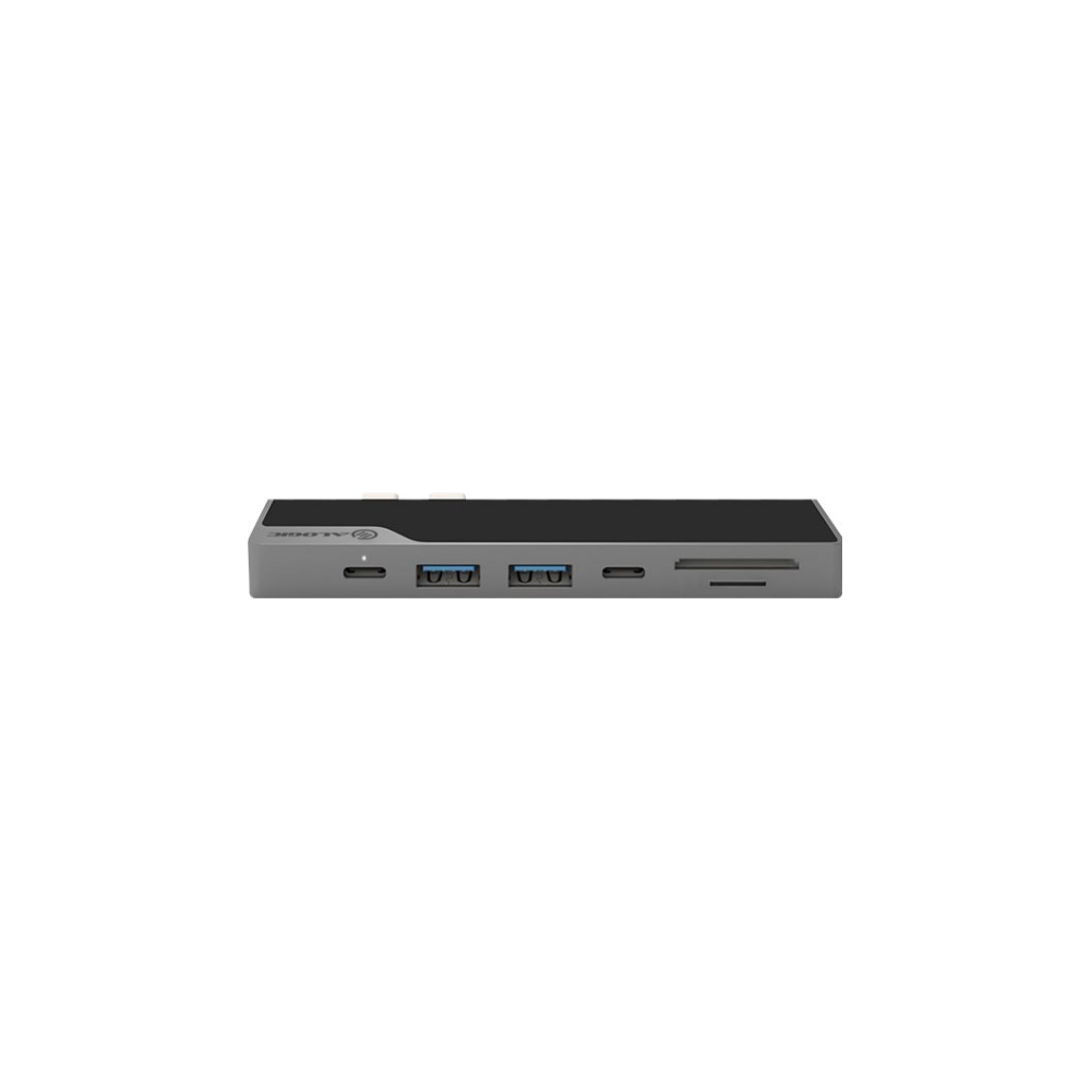 A large main feature product image of ALOGIC Ultra Series USB Type-C Dock Nano - Space Grey