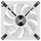 A small tile product image of Corsair QL140 White RGB PWM 140mm Fan - Dual Pack