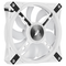 A small tile product image of Corsair QL120 White RGB PWM 120mm Fan - Triple Pack
