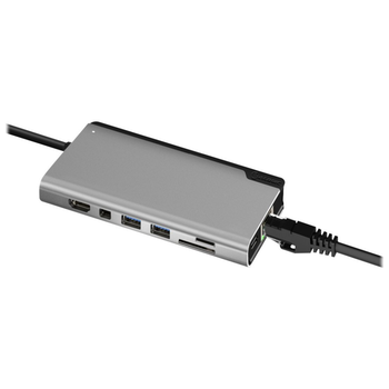 Product image of ALOGIC Ultra Plus USB Type-C Universal Dock w/Power Delivery - Space Grey - Click for product page of ALOGIC Ultra Plus USB Type-C Universal Dock w/Power Delivery - Space Grey