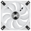 A product image of Corsair QL120 White RGB PWM 120mm Fan