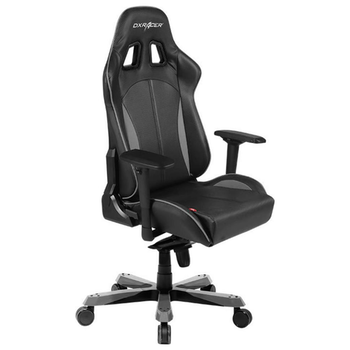 Product image of EX-DEMO DXRacer KS57 Series PC Gaming Chair - Black & Carbon Grey w/ Lumbar Support - Click for product page of EX-DEMO DXRacer KS57 Series PC Gaming Chair - Black & Carbon Grey w/ Lumbar Support
