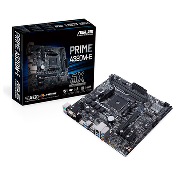 Product image of EX-DEMO ASUS PRIME A320M-E AM4 mATX Desktop Motherboard - Click for product page of EX-DEMO ASUS PRIME A320M-E AM4 mATX Desktop Motherboard