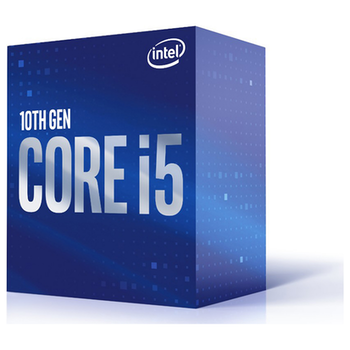 Product image of Intel Core i5 10400 2.9GHz Comet Lake 6 Core 12 Thread LGA1200 - Retail Box - Click for product page of Intel Core i5 10400 2.9GHz Comet Lake 6 Core 12 Thread LGA1200 - Retail Box