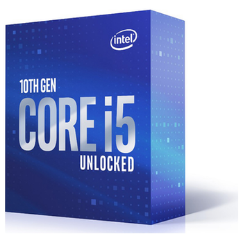 Product image of Intel Core i5 10600K 4.1GHz Comet Lake 6 Core 12 Thread LGA1200 - No HSF Retail Box - Click for product page of Intel Core i5 10600K 4.1GHz Comet Lake 6 Core 12 Thread LGA1200 - No HSF Retail Box