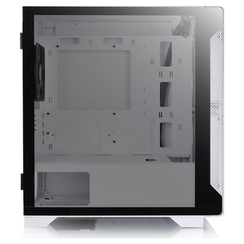 Product image of Thermaltake S100 mATX White Mid Tower Case w/ Tempered Glass Side Panel - Click for product page of Thermaltake S100 mATX White Mid Tower Case w/ Tempered Glass Side Panel