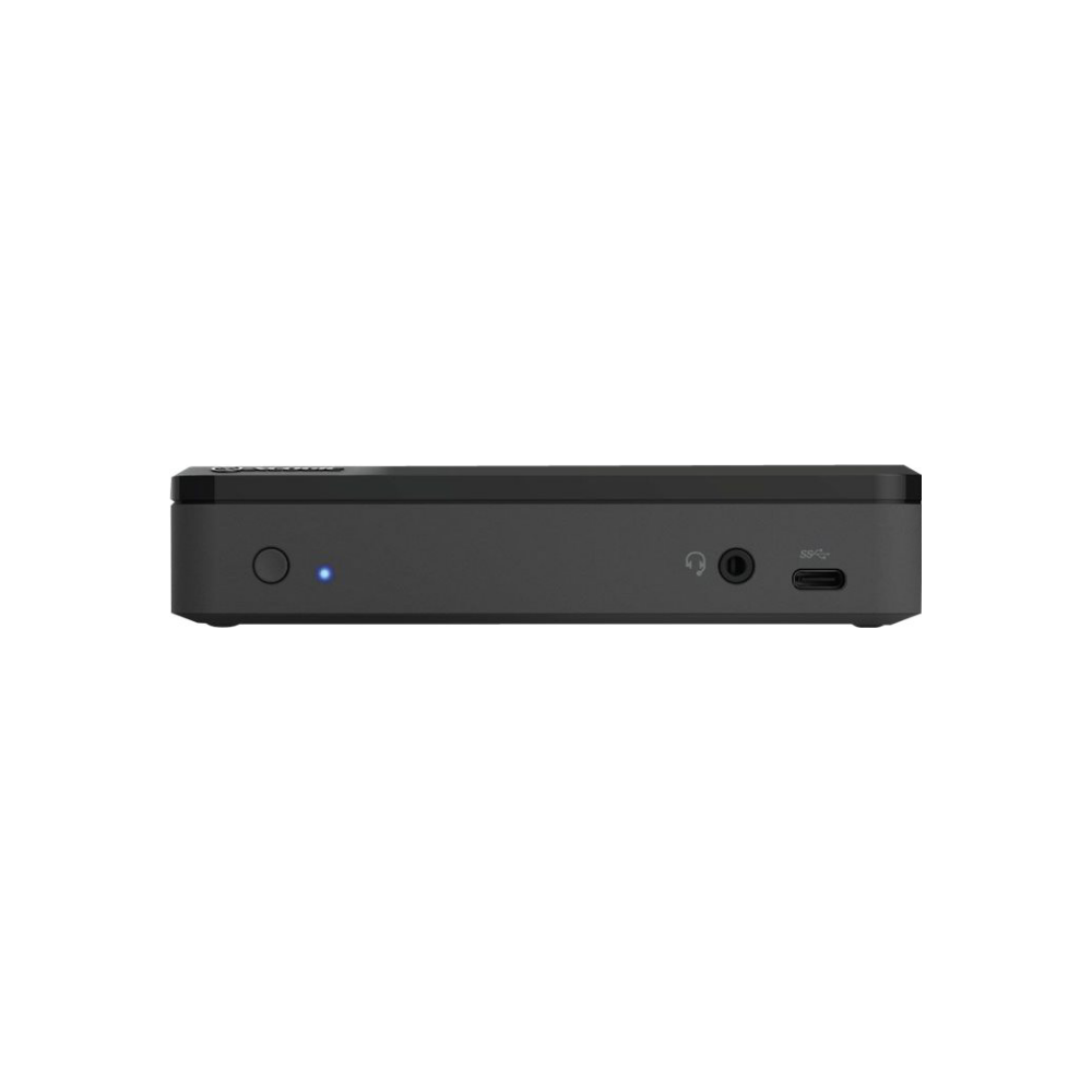 A large main feature product image of ALOGIC Universal TWIN HD PRO Docking Station with Power Delivery 85W