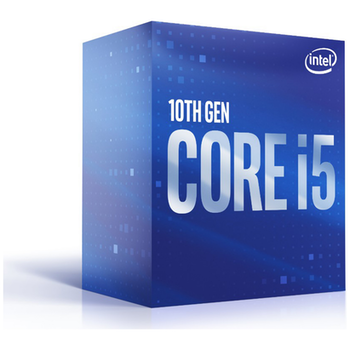 Product image of Intel Core i5 10500 3.1GHz Comet Lake 6 Core 12 Thread LGA1200 - Retail Box - Click for product page of Intel Core i5 10500 3.1GHz Comet Lake 6 Core 12 Thread LGA1200 - Retail Box
