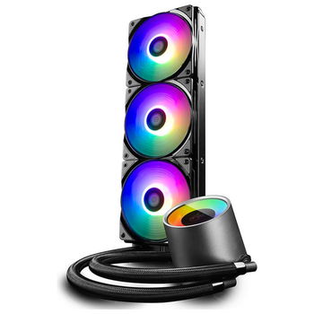 Product image of Deepcool CASTLE 360 RGB V2 AIO Liquid CPU Cooler - Click for product page of Deepcool CASTLE 360 RGB V2 AIO Liquid CPU Cooler