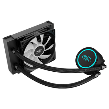 Product image of Deepcool GAMMAXX L120 V2 RGB AIO Liquid CPU Cooler - Click for product page of Deepcool GAMMAXX L120 V2 RGB AIO Liquid CPU Cooler