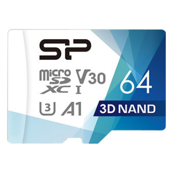 Product image of Silicon Power Superior Pro UHS-I 64GB MIcroSDXC Card w/ SD Adapter - Click for product page of Silicon Power Superior Pro UHS-I 64GB MIcroSDXC Card w/ SD Adapter