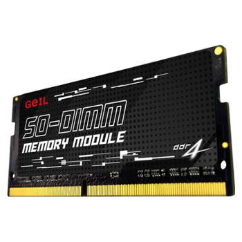 Product image of GeIL 32GB DDR4 SO-DIMM 1.2V C19 2666MHz - Click for product page of GeIL 32GB DDR4 SO-DIMM 1.2V C19 2666MHz