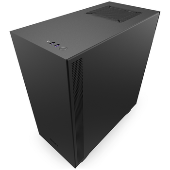 Product image of NZXT 511 Black/Red Mid Tower Case w/ Side Panel Window - Click for product page of NZXT 511 Black/Red Mid Tower Case w/ Side Panel Window