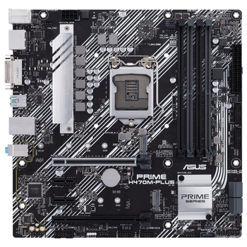 Product image of ASUS PRIME H470M-PLUS LGA1200 mATX Desktop Motherboard - Click for product page of ASUS PRIME H470M-PLUS LGA1200 mATX Desktop Motherboard