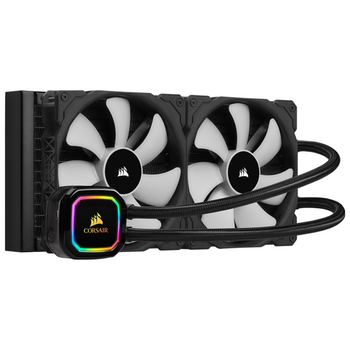 Product image of Corsair iCue H115i RGB Pro XT AIO Liquid CPU Cooler - Click for product page of Corsair iCue H115i RGB Pro XT AIO Liquid CPU Cooler