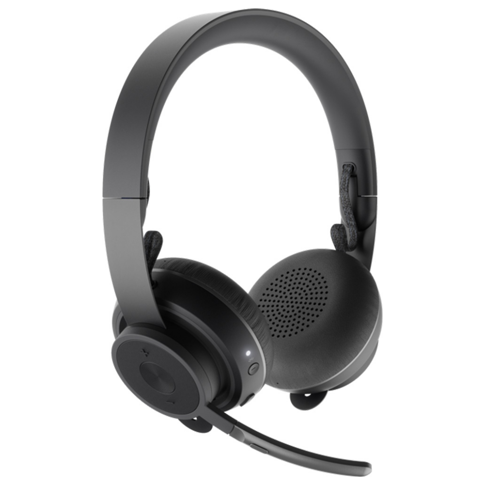 A large main feature product image of Logitech Zone Wireless Plus Bluetooth Headset