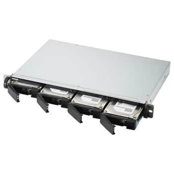 Product image of QNAP TS-451DeU 2.0Ghz 2GB 4 Bay Rackmount NAS Enclosure - Click for product page of QNAP TS-451DeU 2.0Ghz 2GB 4 Bay Rackmount NAS Enclosure