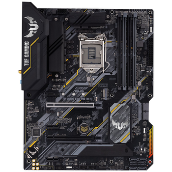 Product image of ASUS TUF Gaming B460-Pro WiFi LGA1200 ATX Desktop Motherboard - Click for product page of ASUS TUF Gaming B460-Pro WiFi LGA1200 ATX Desktop Motherboard