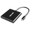 A product image of Volans Aluminium USB-C Multiport Adapter
