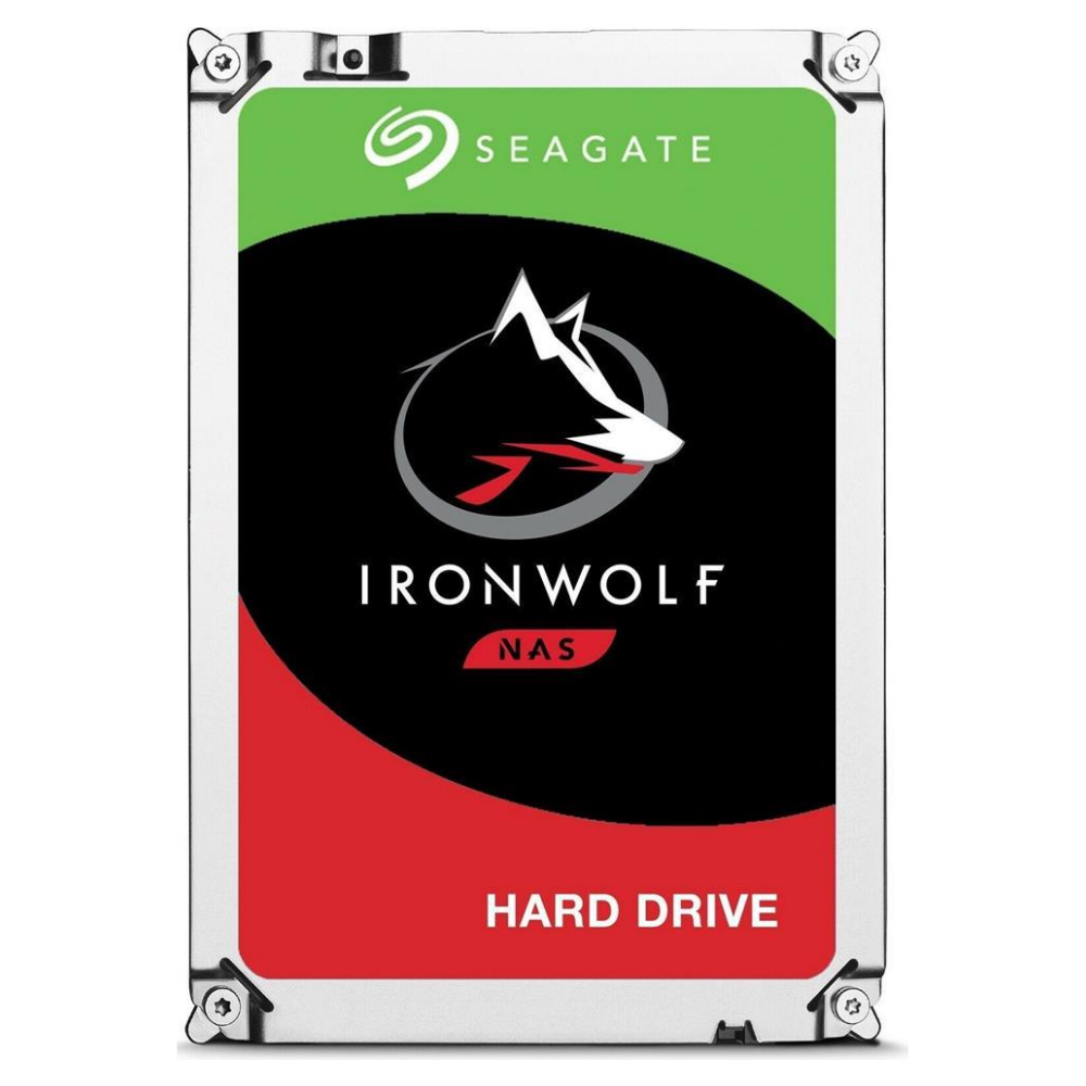 "A large main feature product image of Seagate IronWolf ST6000VN001 3.5"" 6TB NAS HDD"